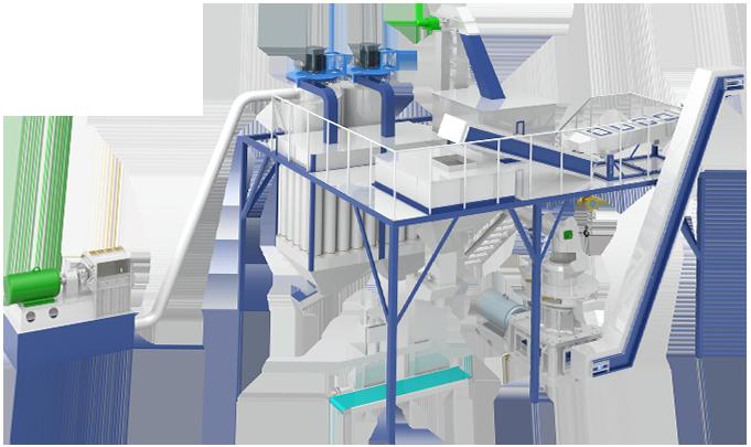 Pellet Mill Wood Pellet Machine Yantai Lida Pelletizer Machine