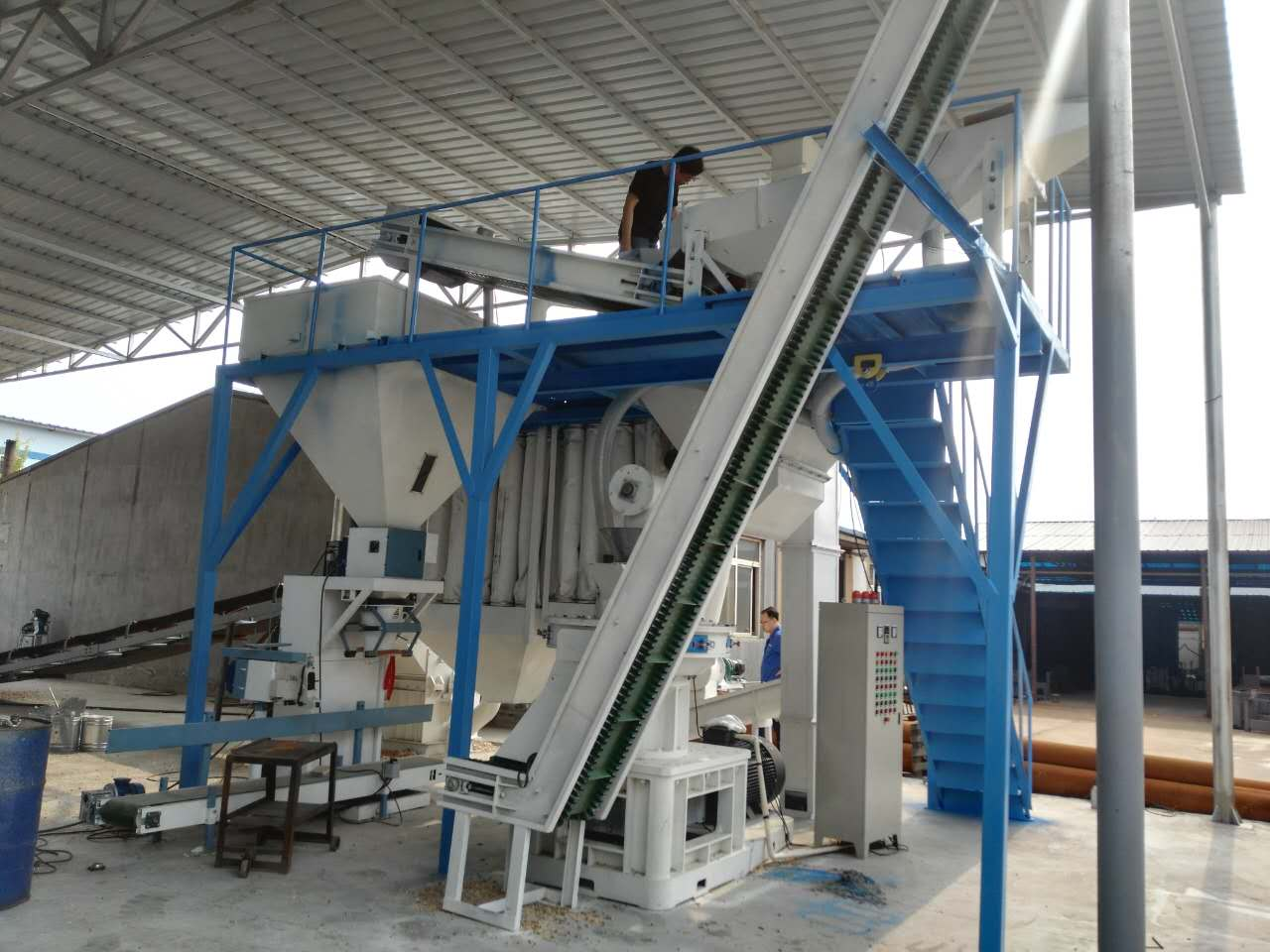 wood pellet machine from China