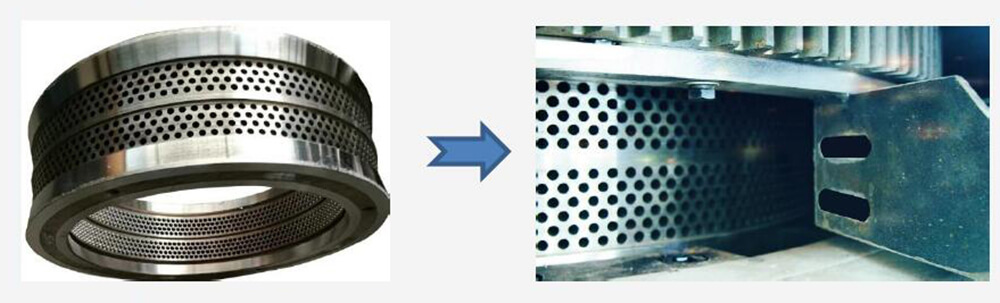 difference between new pellet machine and old pellet machine